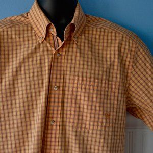 Ariat Pro Series Button front Vented Shirt Plaid